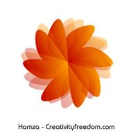 SImple Flower - InKscape - by hamzaz