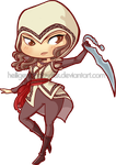 Chibi Assassin by HeiligerShadowfax