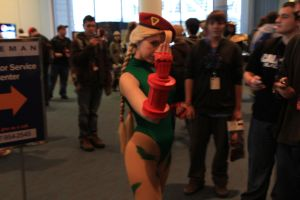 PAX East 2013 - Cammy White by VideoGameStupid