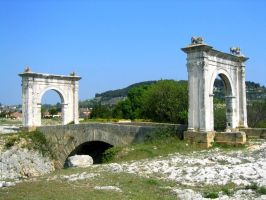 Flavian Bridge by Syltorian