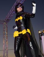 Batgirl - stance by DISC-Photography