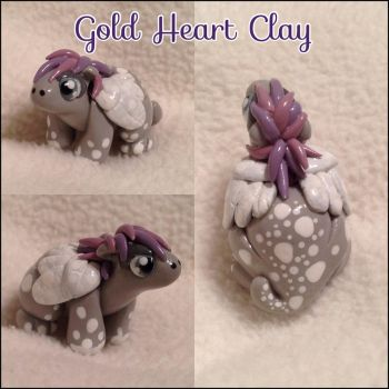 Winged Dragon Baby... Pony Dragon...? by Gold-Heart-Clay