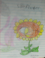 Sunflower by kindraewing
