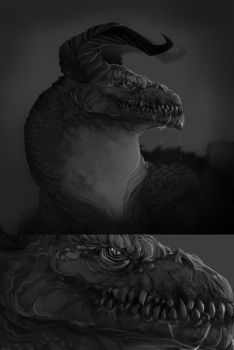 HEAD OF THE DRAGON by MichaelBills