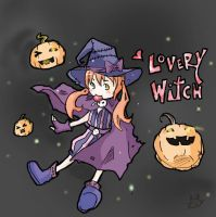 Lovery Witch by OrangeLightning123