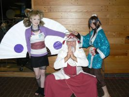 Haku  Sarutobi Temari Naruto by myfairygodmother
