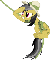 Swinging Daring Do by ChainChomp2