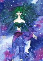 Swimming in The Cosmos by Chiiromi-chan