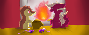a present thereafter by messenger-rat