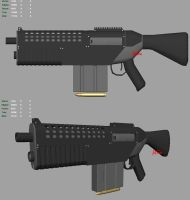 Protomech Assult Rifle Preview by Ikimono1