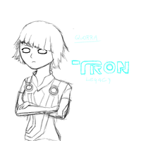 TRON Quorra sketch by ThatPuggy