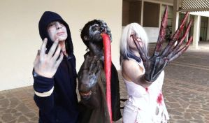 Left 4 Dead  Backstage by The SC Cosplay by theSCcosplay