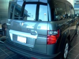 2011 Honda Element back by Kyuubichowderfan