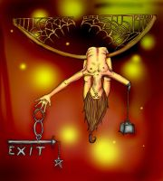 Self Infliction by pun