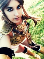 Queen Zelda WIP by Xalitha