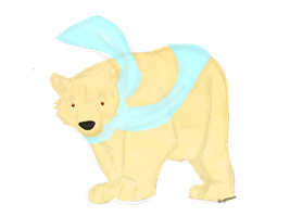 Polar Bear / Lineless thingy by nightstrikers