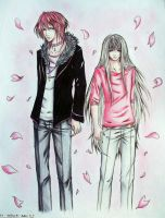+Luka and Evan+ by Recca-Kun