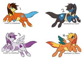 Ponymon Batch 2  -OPEN- by DemoniaTheGuardian