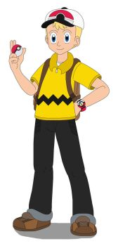 Charlie Brown the Pokemon Trainer by MCsaurus