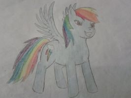 Rainbow Dash by handcuffs4ever