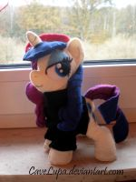 Art Gallery Rarity Plush by CaveLupa