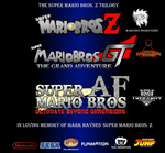 The Super Mario Bros. Z Trilogy Poster by TuffTony