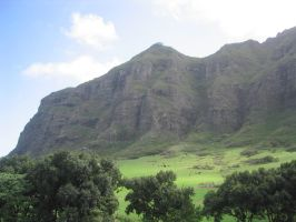 Jungle Ridge on Kualoa Ranch by Washu-kun