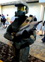 Otakon 2011 Master Chief by DarkGyraen