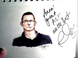 Robert Irvine signed my picture by atnason
