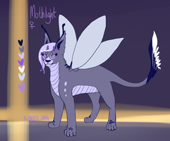 Mothlight Reference Sheet by Kama-ItaeteXIII