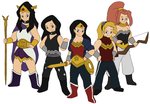 Amazons by Gaiash