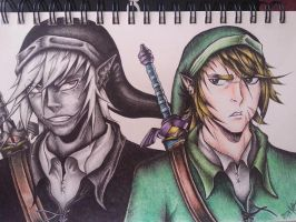 Link and Dark Link (COMPLETE) by JustinEugene