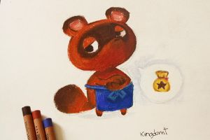 Tom Nook by KingdomT