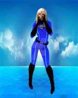 Yaya Han as The Invisible Woman by CarlShepard