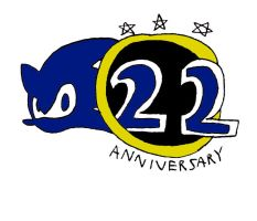 Sonic's 22th Anniversary!!! by RocketSonic