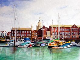 Portsmouth Harbour by pussycat