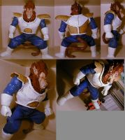 DragonballZ Ohzaru Vegeta Ape by pgv