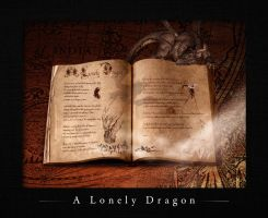 A Lonely Dragon by elementj