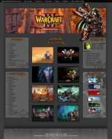 Warcraft III Site by Sansana