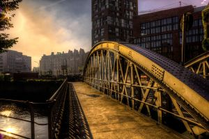 Bridge in the Morning by MartinJP