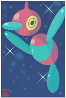 474: Porygon-Z by MandiR