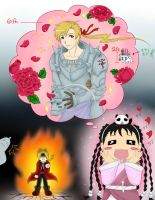 FMA Knight in Shining Armor by MisChibiOus