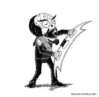 Worf, Son of Mogh Calavera by thesometimers