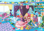 Ariel's room 2 by Hapuriainen