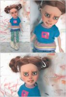 Cassie OOAK Doll Repaint by kamarza