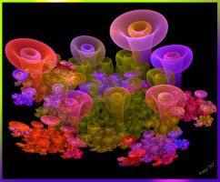 magical mushrooms by Loony-Lucy
