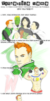Guy Gardner FANSERVICE meme by Ladytalon1