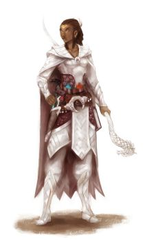 silver mage by wood-illustration