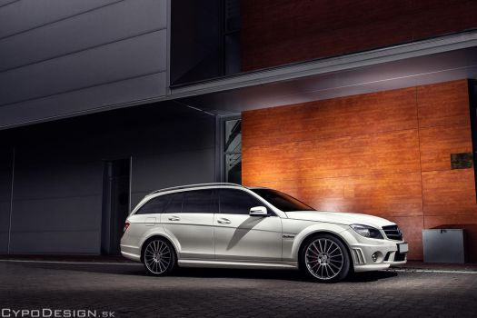 Mercedes-Benz C63 AMG Estate by CypoDesign