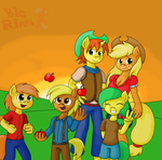 Request: The Apple Family by BigRinth